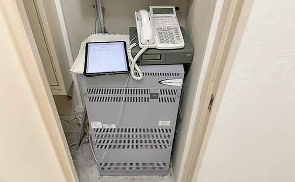 IP電話への変更工事の写真