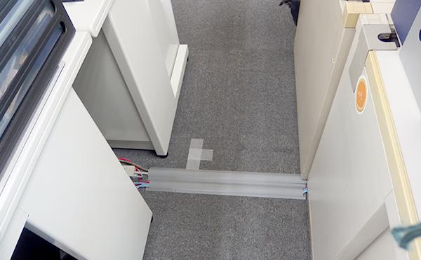 配線整理工事の写真